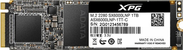 XPG SX6000 Lite 1TB