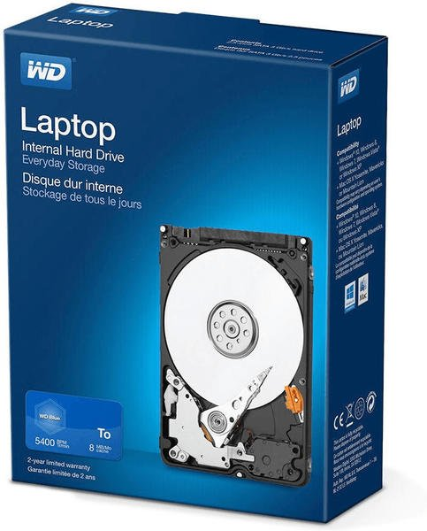 Western Digital Laptop Mainstream Retail Kit 2TB (WDBMYH0020BNC-WRSN)