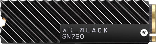 Western Digital Black SN750 NVMe 500GB Heatsink