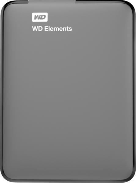 Western Digital Elements Portable 500GB USB 3.0 (WDBUZG5000ABK-WESN)