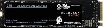 Western Digital Black SN750 NVMe 2TB (WDBRPG0020BNC)