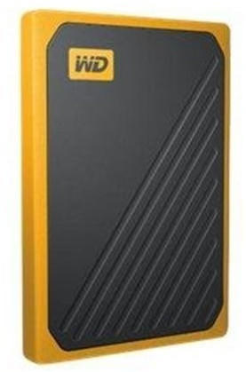 Western Digital My Passport Go SSD 2TB schwarz/gelb