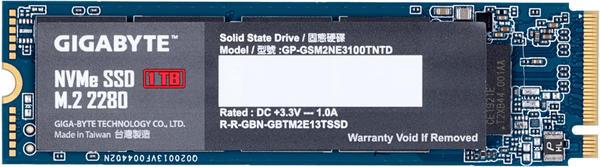 GigaByte NVMe SSD 1TB (GP-GSM2NE3100TNTD)