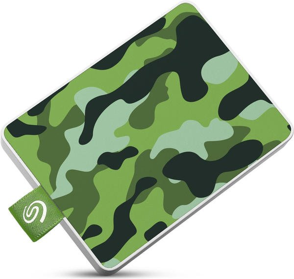 Seagate One Touch SSD 500GB Camo-Grün