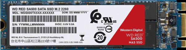 Western Digital Red SA500 500GB M.2