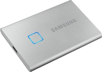 Samsung Portable SSD T7 Touch 500GB silber
