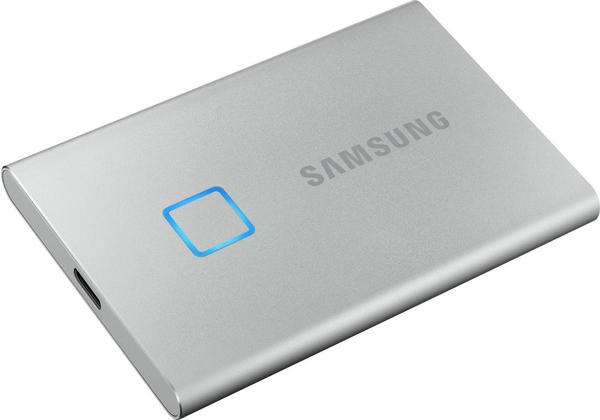 Samsung Portable SSD T7 Touch 2TB silber