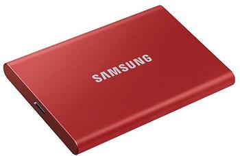 Samsung Portable SSD T7 500GB rot