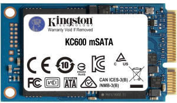 Kingston KC600 256GB mSATA