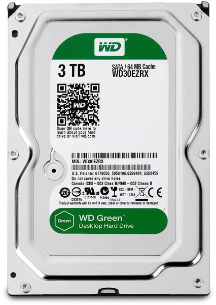 Western Digital WD30EZRX Caviar Green 3 TB