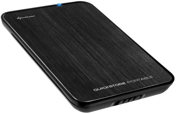 Sharkoon Quickstore Portable USB 3.0 schwarz