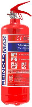 Reinold Max Löscher 2kg mit Wandhalterung