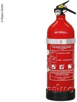 Sedata ABC-Feuerlöscher 2kg mit Druckanzeige