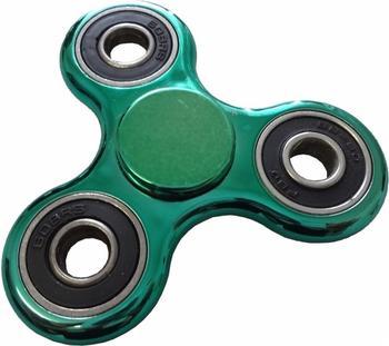 trends4cents Hand Spinner Metallic Look green