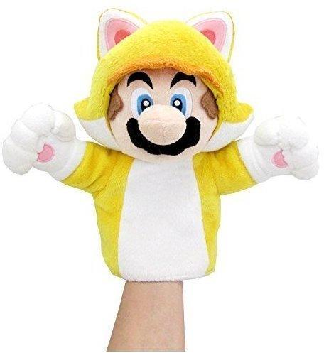 Together+ Nintendo Plüschfigur Handpuppe Mario Katze (25cm)