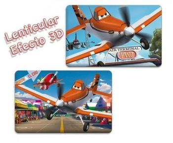 ELI Planes 3D Platzdeckchen (2 Motive)