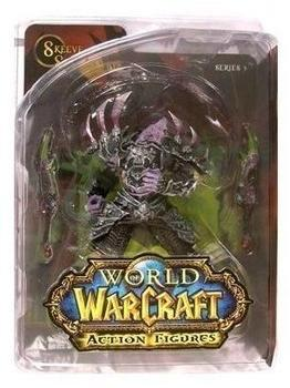 DC Comics World of Warcraft Serie III Action Figur Undead Rouge Skeeve Sorrowblade 18 cm