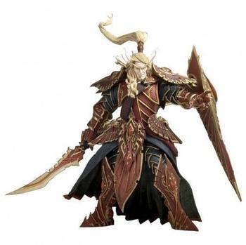 DC Comics World of Warcraft - Series 3 - Blood Elf Paladin: Quin'Thalan Sunfire