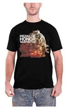 Bioworld T-Shirt - MoH: Warfighter: Character, schwarz, XL