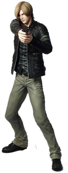 Capcom Resident Evil 6 PVC Statue Leon S. Kennedy 24 cm