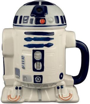 Joy Toy Star Wars R2D2 Keramiktasse mit Deckel