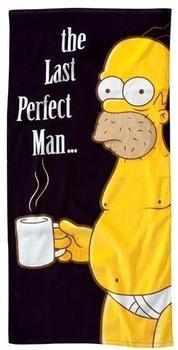"United Labels Simpsons-Strandtuch ""The Last Perfect Man"" (75x150 cm)"