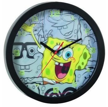 UNITED LABELS Wanduhr Spongebob