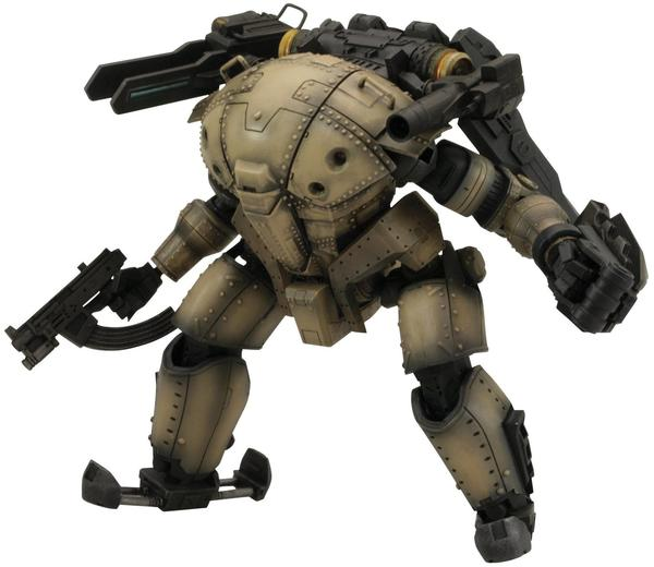 Kotobukiya Lost Planet II - PTX-140: Hardballer Early Model braun