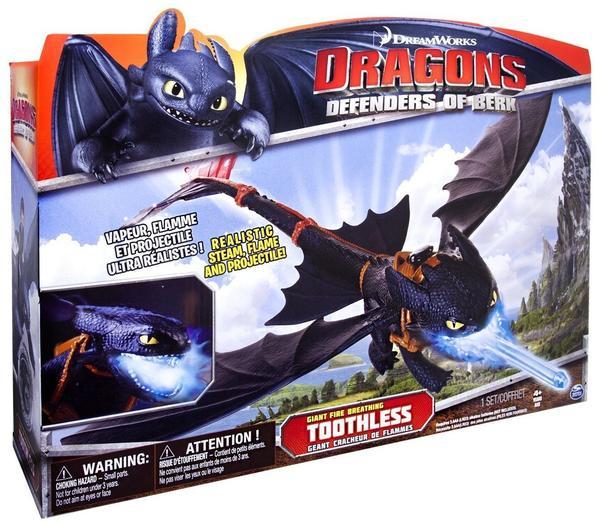 Spin Master Dragons: Defenders of Berk - Feueratem Ohnezahn
