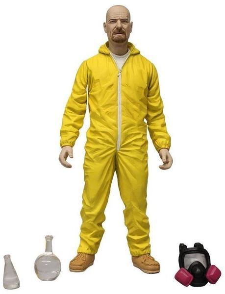 Mezco Toys Breaking Bad - Walter White Yellow Hazmat Suit