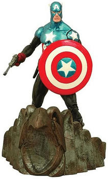 Diamond Select Toys Marvel Select - Captain America Special Collection Edition