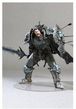 DC Comics World of Warcraft - Series 2 - Human Warrior: Archilon Shadowheart Collector