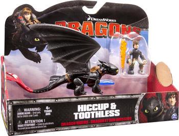 Spin Master DreamWorks Dragons Drache und Reiter - Hicks & Ohnezahn rot