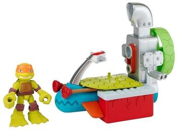 Stadlbauer Turtles Half Shell Heroes - Sewer Cruiser mit Diver Mikey,