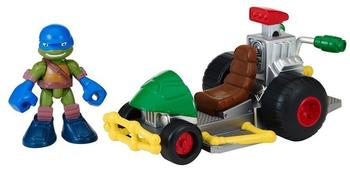 Stadlbauer Turtles Half Shell Heroes - Patrol Buggy mit Racer Leo