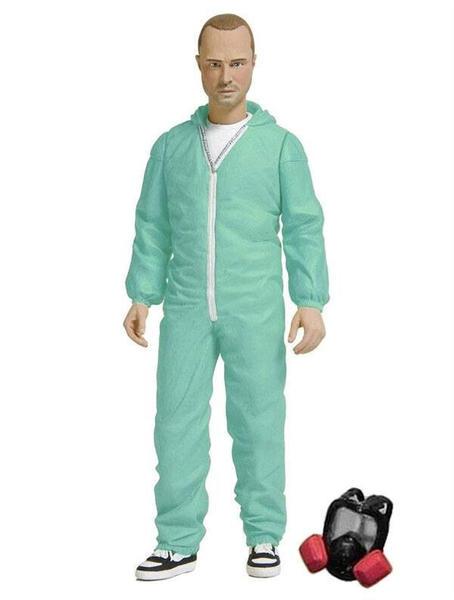 Mezco Toys Breaking Bad - Jesse Pinkman Blue Hazmat Suit Fig.