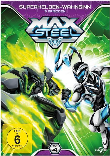 Max Steel Vol. 4 - Superhelden - Wahnsinn [DVD]