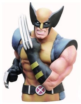 Monogram Marvel Wolverine Masked Bust Bank Spardose