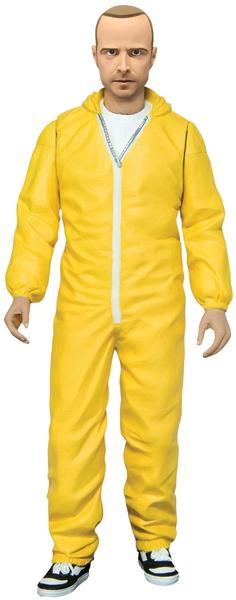 Mezco Toys Breaking Bad - Jesse Pinkman Yellow Hazmat Suit