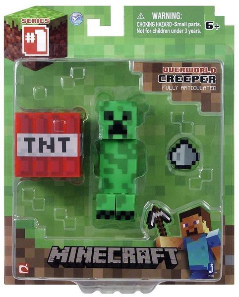 Jazwares Minecraft Overworld Creeper