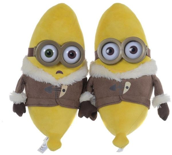Minions - Bananas-Minion 28 cm Plüsch 2-fach sortiert