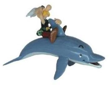 Plastoy - Asterix & Obelix - Schlüsselanhänger Asterix mit Delfin