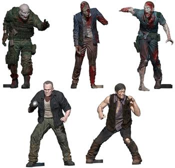 McFarlane Toys The Walking Dead Building 5-Pack - Woodbury Arena