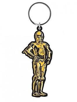 Pyramid Star Wars Gummi-Schlüsselanhänger C-3PO 6 cm