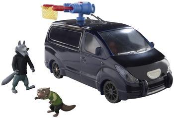 TOMY Zoomania Mr. Ottertons Van mit Figuren