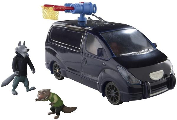 TOMY Zoomania Mr. Ottertons Van mit Figuren