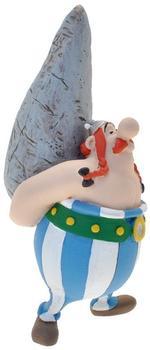 Plastoy Asterix: Figur Obelix mit Hinkelstein