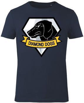 GoZoo GmbH Shirt - Metal Gear Solid: Diamond Dogs - Blue - Gr. M