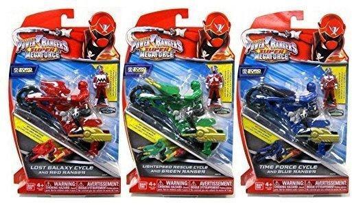Bandai Power Rangers Super Megaforce - Cycle mit Figur (38070)