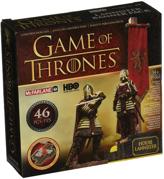 McFarlane Toys Game of Thrones Building Set Lannister Banner Pack